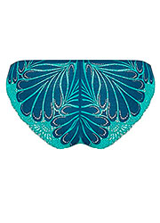 Wonderbra Refined Glamour Blue Brazilian Brief Zoom 3
