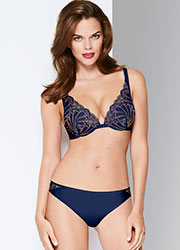 Wonderbra Refined Glamour Marine Triangle Bra Zoom 3