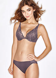 Wonderbra Refined Glamour Silver Brazilian Brief Zoom 3
