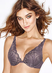 Wonderbra Refined Glamour Silver Triangle Bra Zoom 2