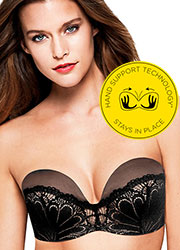 Wonderbra Refined Glamour Ultimate Strapless Bra Zoom 1