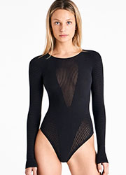 Wolford Electric Affairs String Body Zoom 1