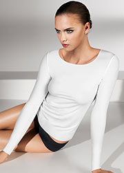 Wolford Pure Pullover Zoom 1