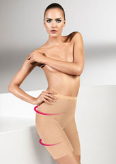 Wolford Tulle Control Shorts Zoom 2