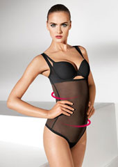 Wolford Tulle Forming String Body
